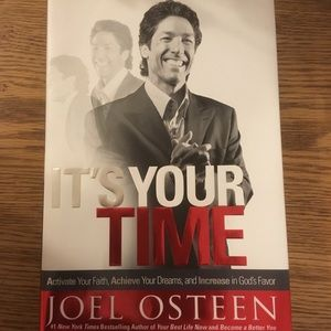 """Joel Osteen book """"It's Your Time"""""""